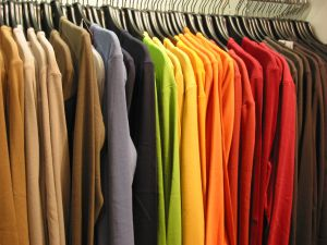387819_colorful_shirts_in_file.jpg
