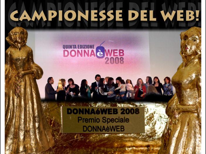 Donna è Web 2008:  abbiamo vinto!   Noi Mamme