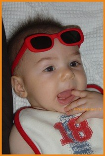 Come proteggere gli occhi dei bambini