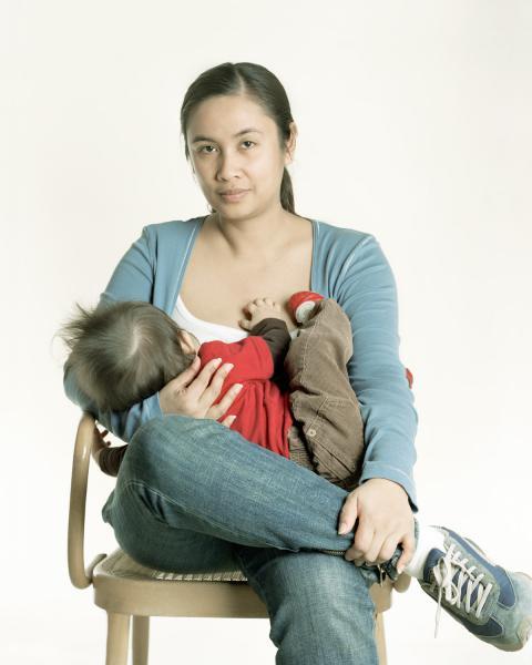 Fotografie che parlano di allattamento