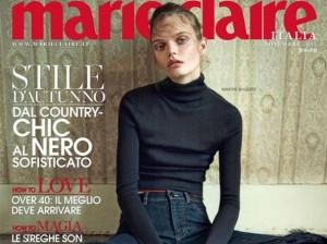 Copertina Marie Claire Novembre
