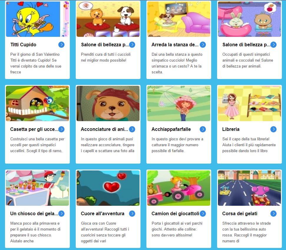 I migliori giochi online per bambine e ragazze