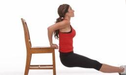 Tricipiti con sedia