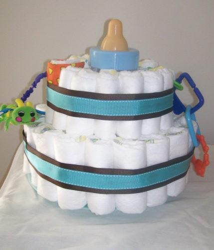 regalo torta di pannolini
