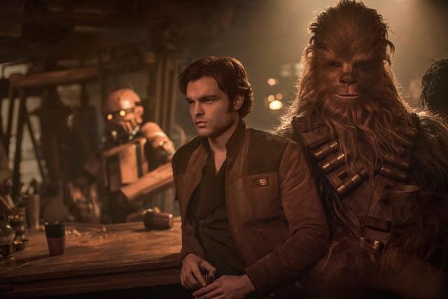 Han Solo e Chewbecca