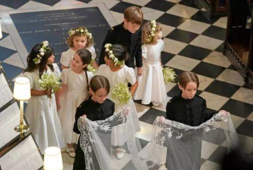 abiti damigelle matrimonio Harry e Meghan