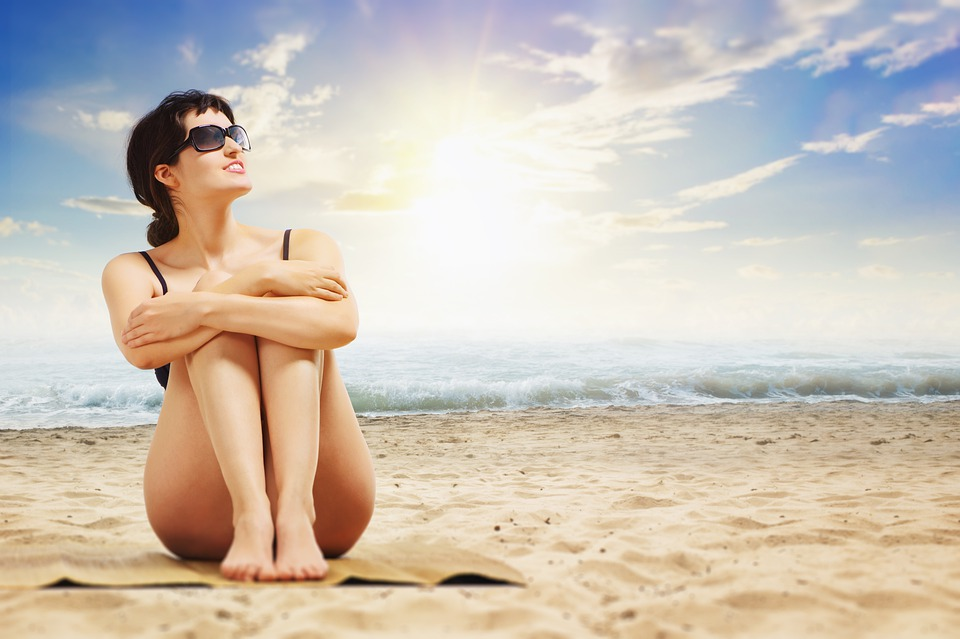 beach, mare, sabbia