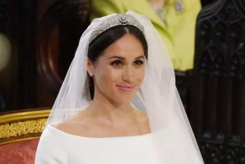 La tiara di Meghan