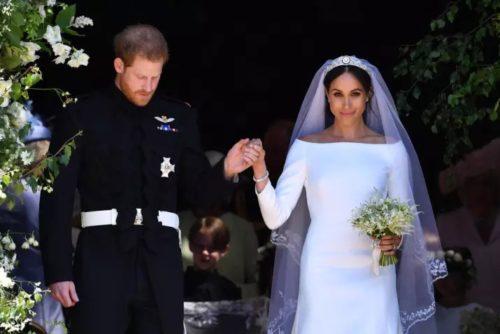 Bouquet matrimonio Harry e Meghan