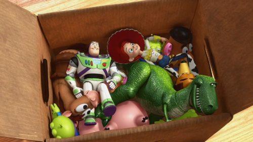 come eliminare i giocattoli di troppo
