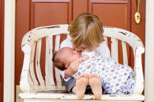 Non baciare i neonati