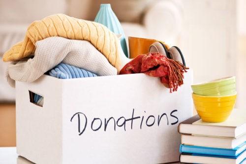 scatola delle donazioni