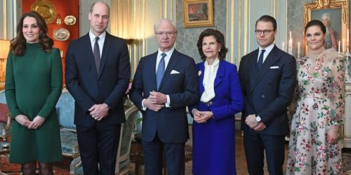 Kate e William in Svezia