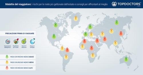 Mappa zone a rischio sanitario