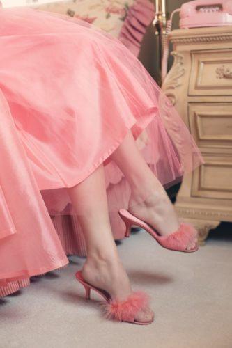 Pantofole eleganti da donna
