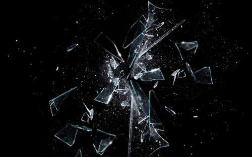 Schegge di vetro