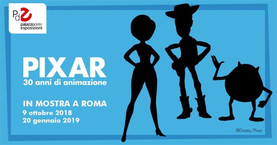 "Apertura mostra ""Pixar. 30 anni di animazione"""