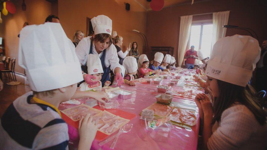 cucina con bambini