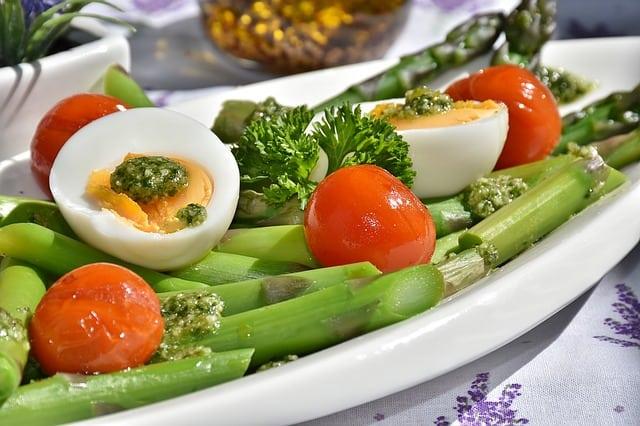 uova verdure