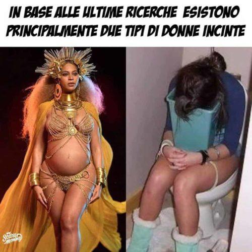 meme gravidanza