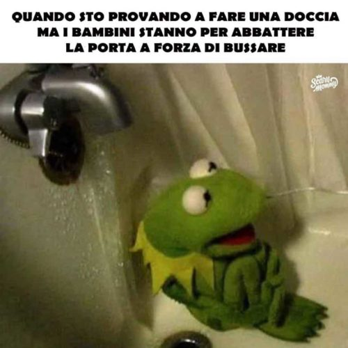 meme doccia