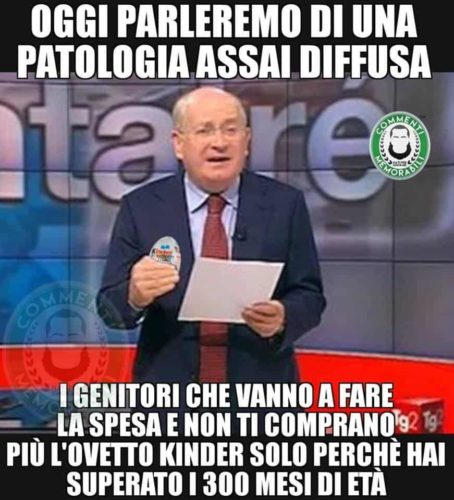 meme ovetto kinder