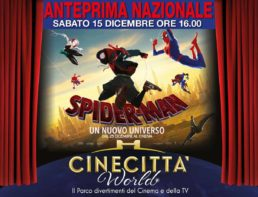 Spiderman a cinecittà world