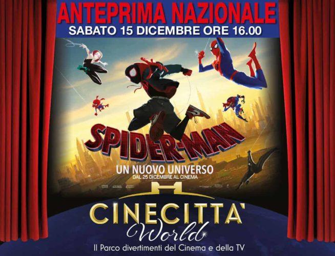 Spiderman a cinecittà world