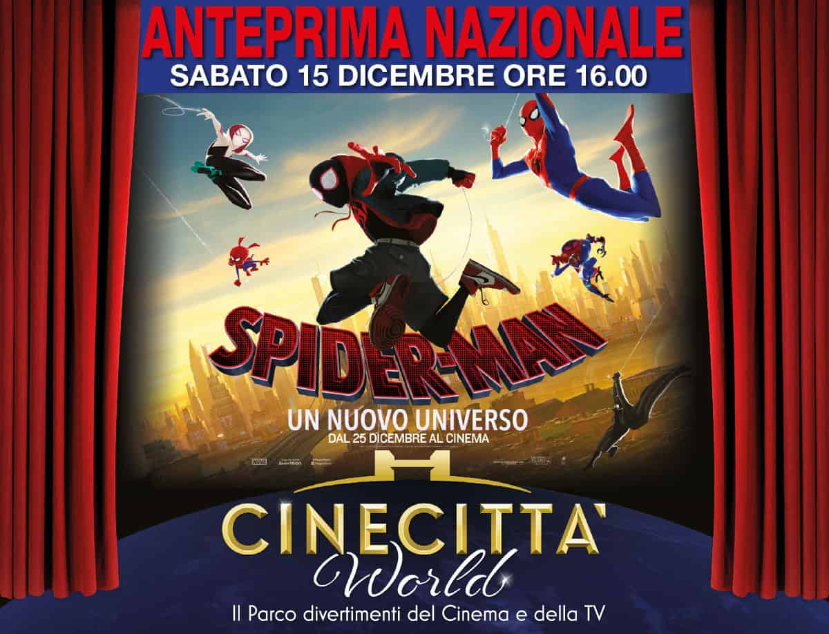 Spider-man arriva a Cinecittà World