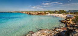 Formentera, spiaggia di Cala Saona