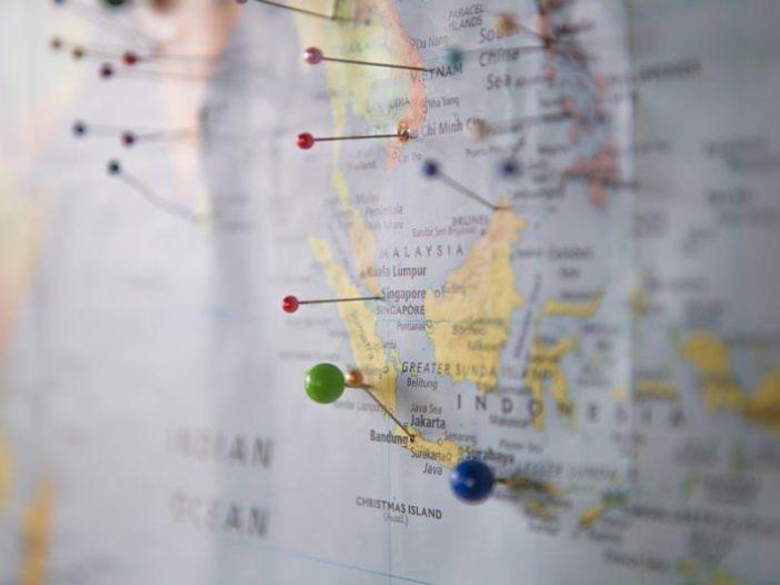 viaggiare mappamondo