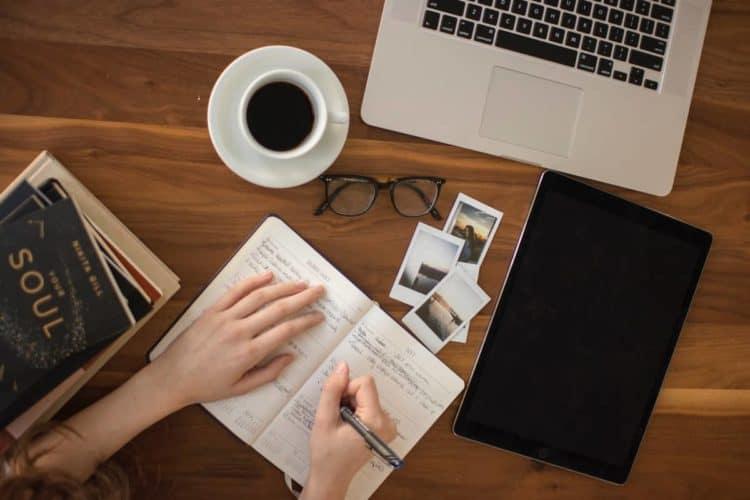 Scrivere una lista per pianificare i pasti