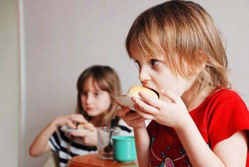 alimenti confezionati per i bambini