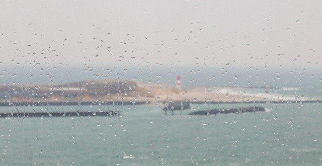 pioggia in vacanza