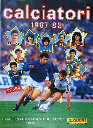 Album figurine dei calciatori anni 80