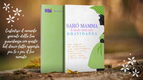 Cover Diario gravidanza sarò mamma