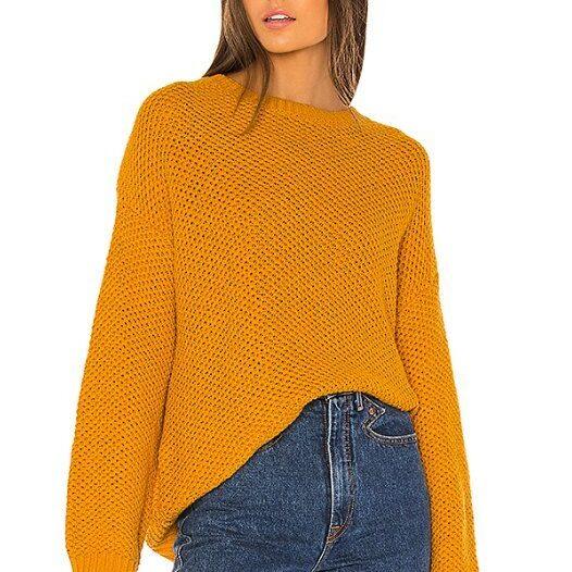 maglione color calendula